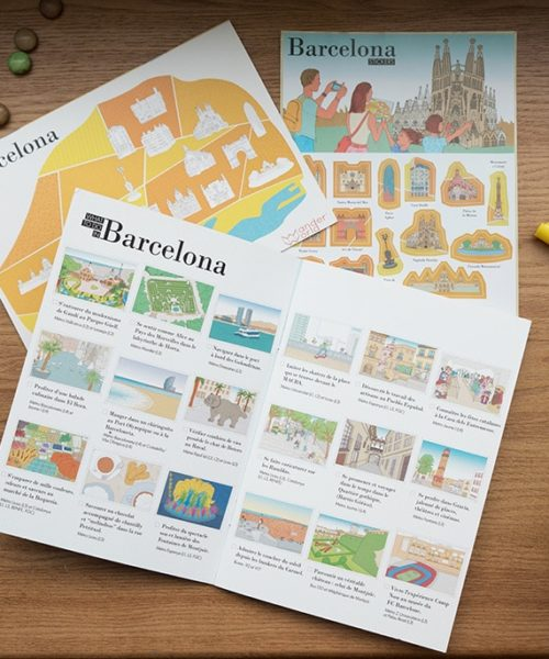 Diario de viaje infantil de Barcelona