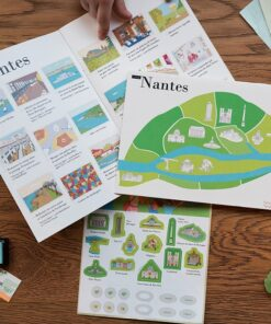 children's travel diary nantes