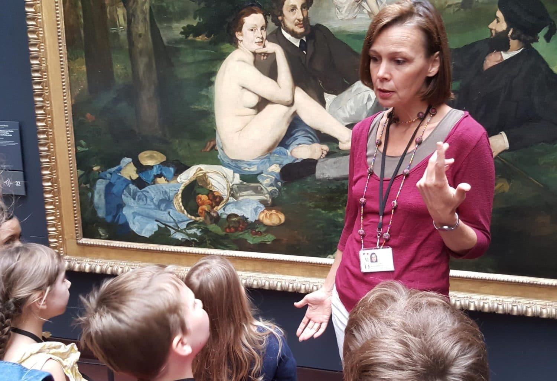 visiter un musée avec les enfants