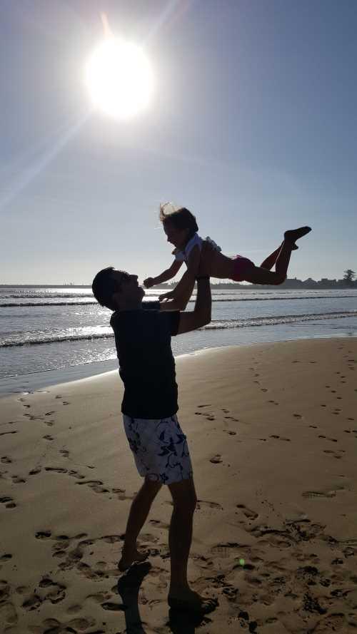 des vacances en famille à la plage