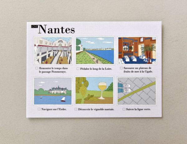 cartes postales illustrées Nantes visuel 4