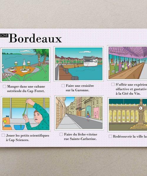 cartes postales illustrées Bordeaux 4
