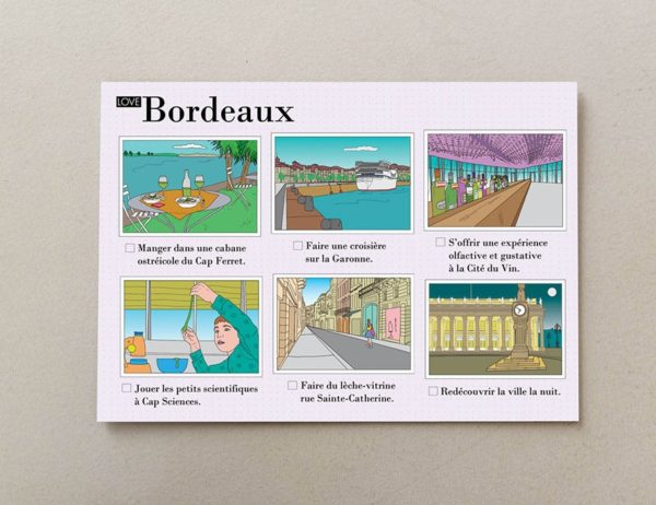 cartes postales illustrées Bordeaux 4