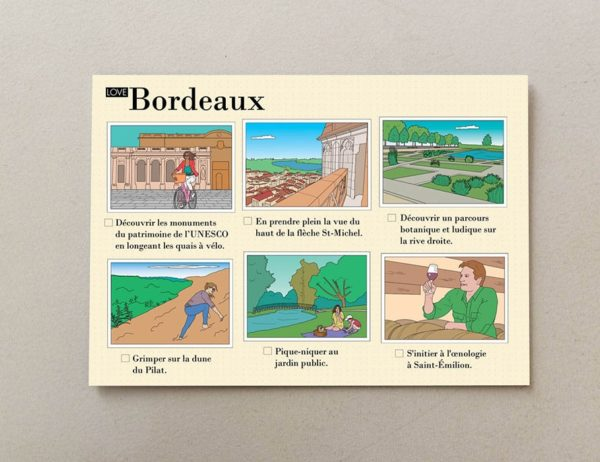 cartes postales illustrées Bordeaux 3