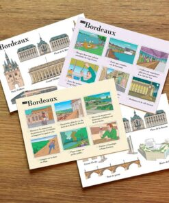 cartes postales illustrées Bordeaux