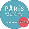 WanderWorld produits d'hôtel et d'accueil - Logo Office du Tourisme Paris