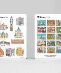 cahier à spirale original Venise monuments image 1