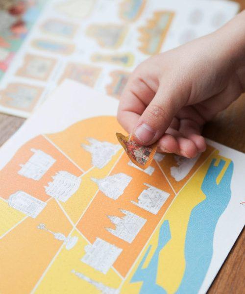 children's travel diary Barcelona 3