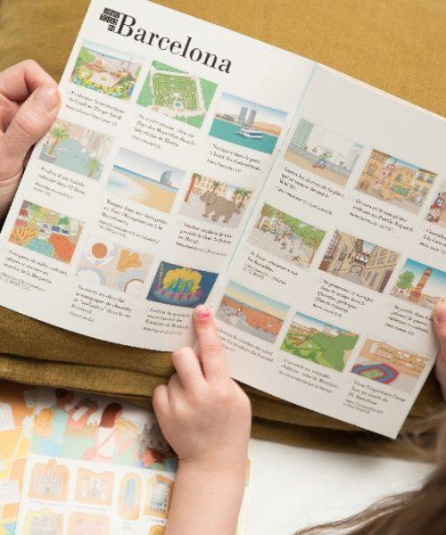 children's travel diary Barcelona 4