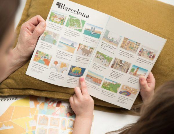 carnet de voyage enfant Barcelone 4