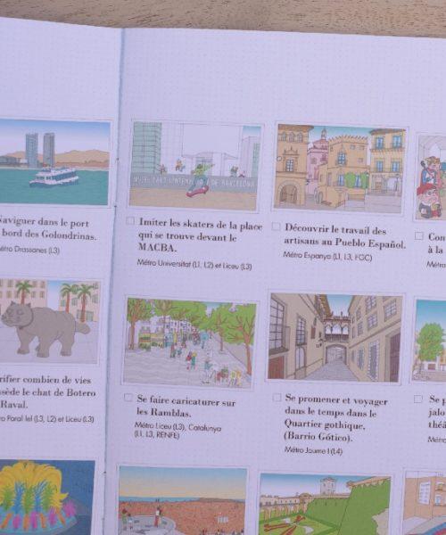 children's travel diary Barcelona 6