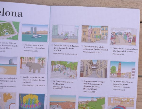 carnet de voyage enfant Barcelone 6