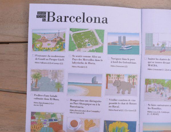 carnet de voyage enfant Barcelone 7