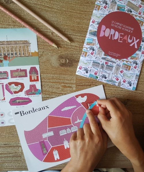 Children's travel diary Bordeaux 1
