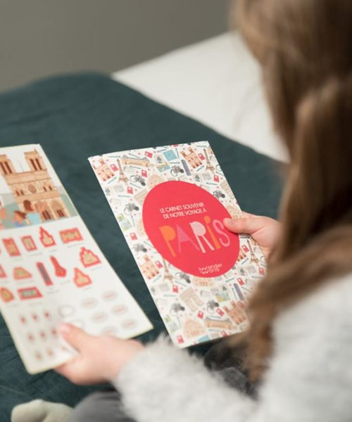 children's travel diary Paris 1