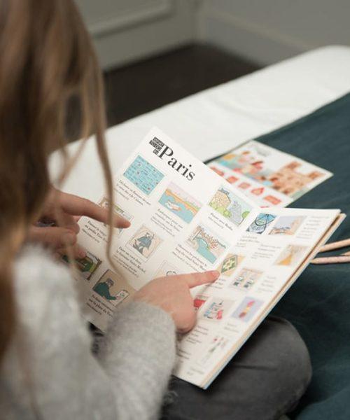 diario de viaje infantil París 2