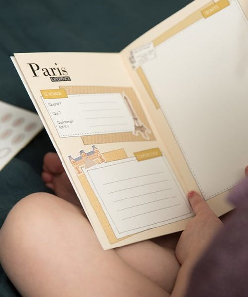 carnet de voyage enfant Paris 3