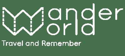 wanderworld carnets de voyage enfant logo blanc