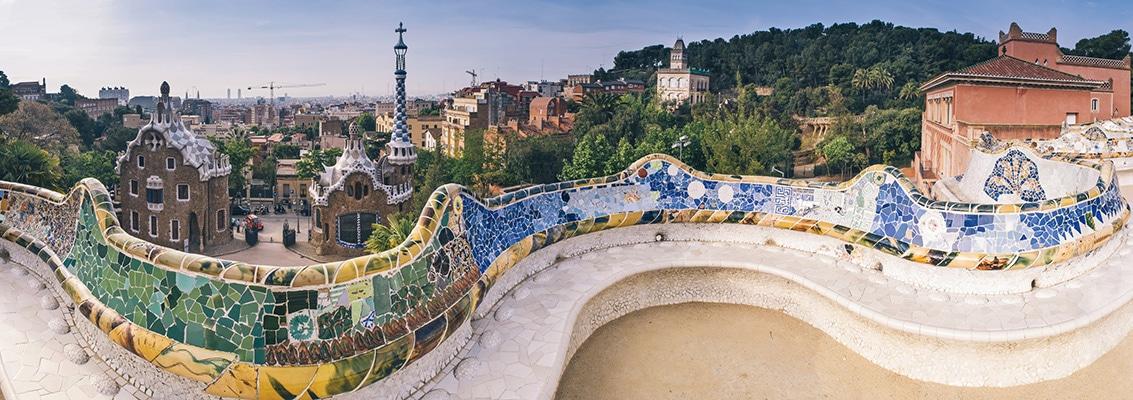 visiter Barcelone en famille bannière
