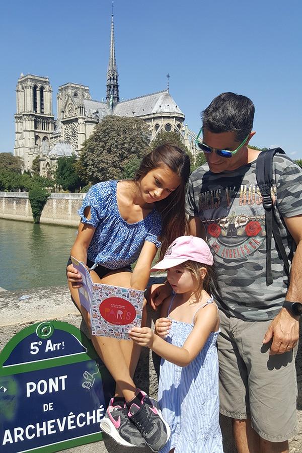 voyage à paris en famille
