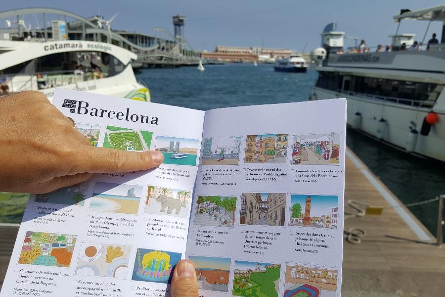 visiter barcelone en famille image