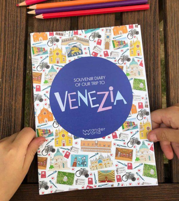 carnet de voyage Venise WanderWorld couverture