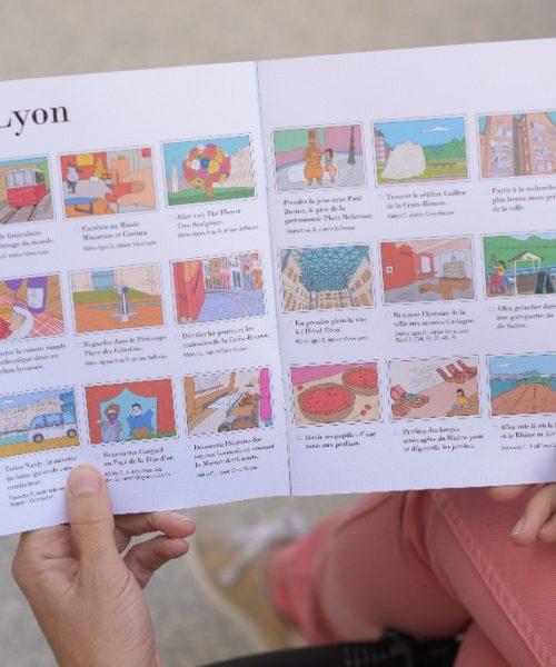 Carnet de voyage enfant Lyon 1