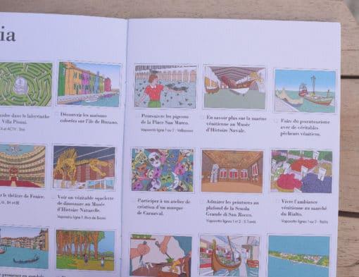 Carnet de voyage enfant Venise 1