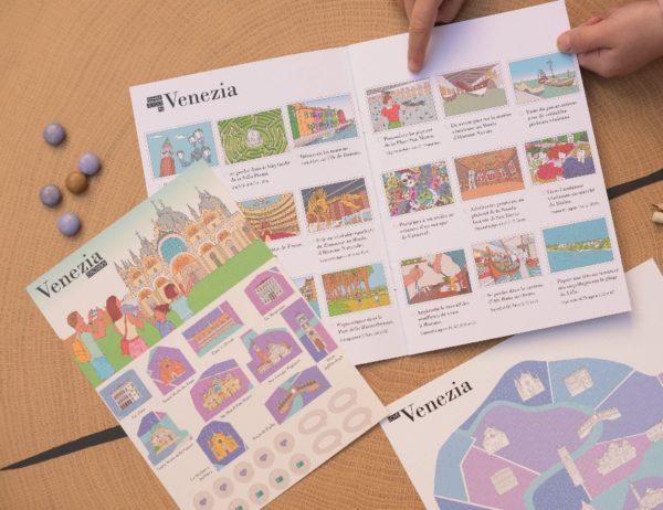 Diario de viaje de los niños de Venecia