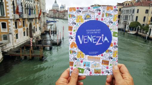 Carnet de voyage enfant Venise