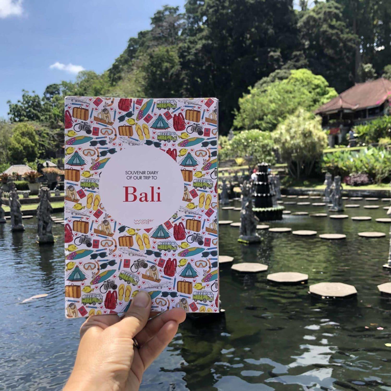 Diario de viaje de Bali de Tirta Gangga