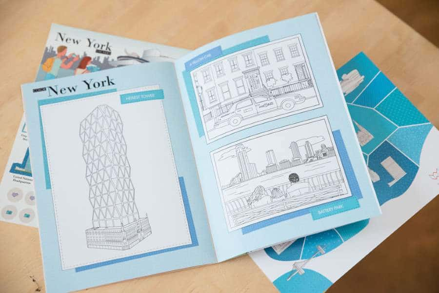 carnet de voyage enfant New York 4