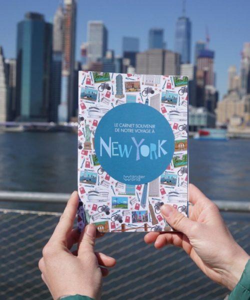 WanderWorld carnet de voyage enfant New York