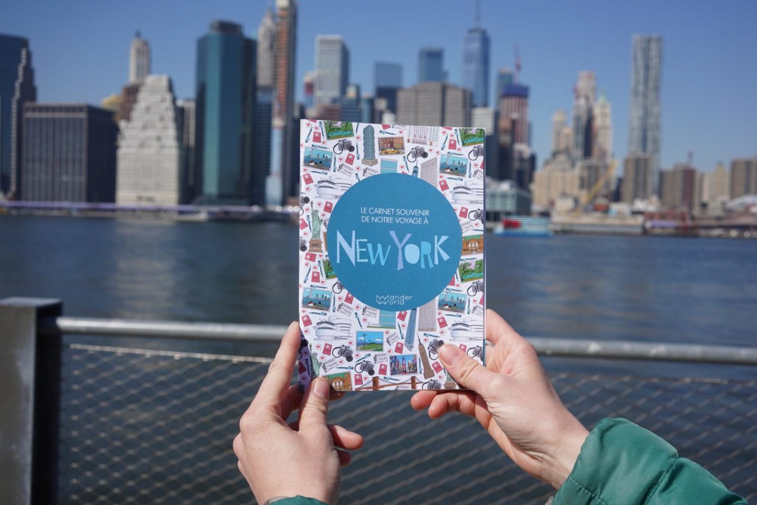 WanderWorld New York children's travel diary