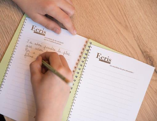 carnet de voyage vierge écrire notes