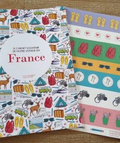 carnet de voyage vierge France cover