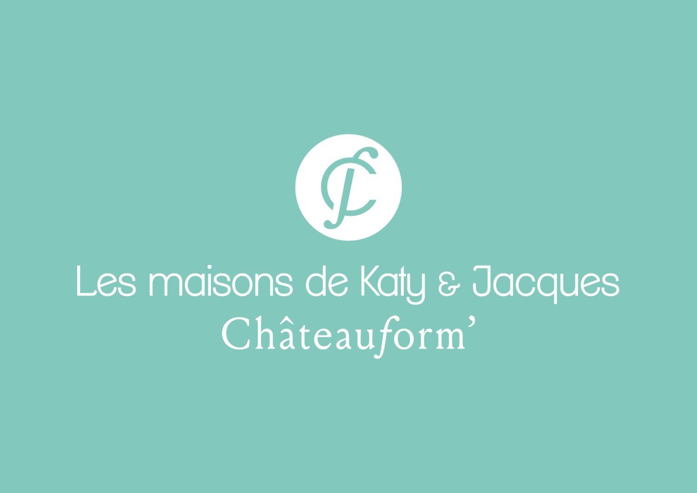Logo hotel les maisons de Katy et Jacques