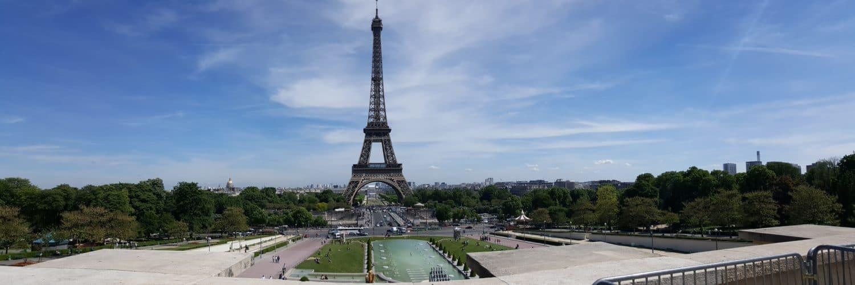 Vue sur la Tour Eiffel Paris