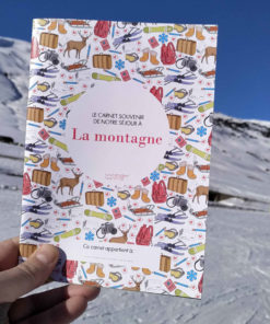 carnet de voyage enfant sports d'hiver