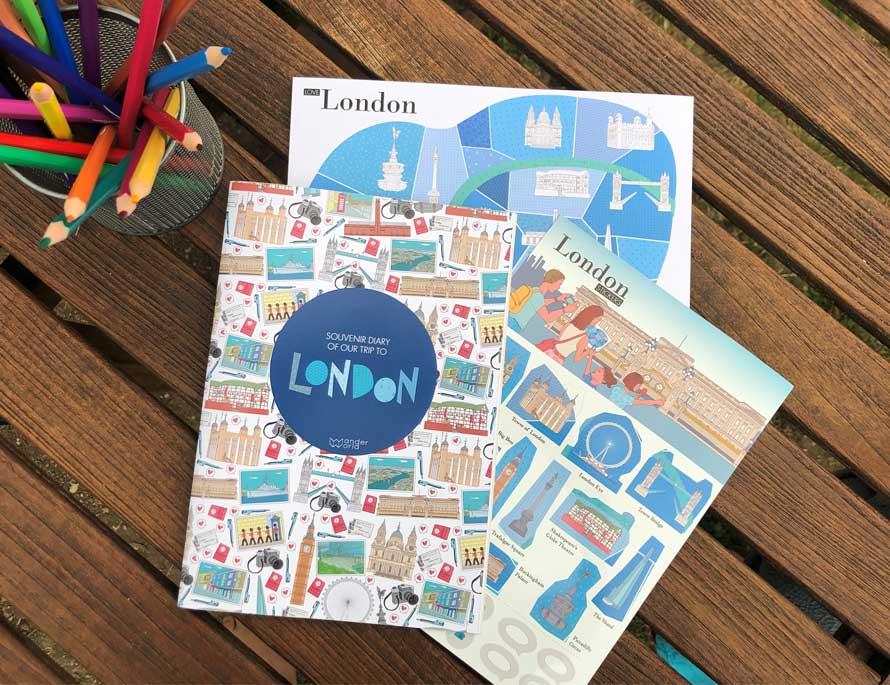 carnet de voyage WanderWorld Londres