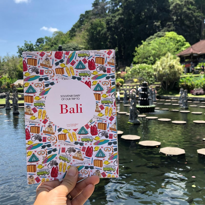 Carnet produit d'accueil hotel Bali