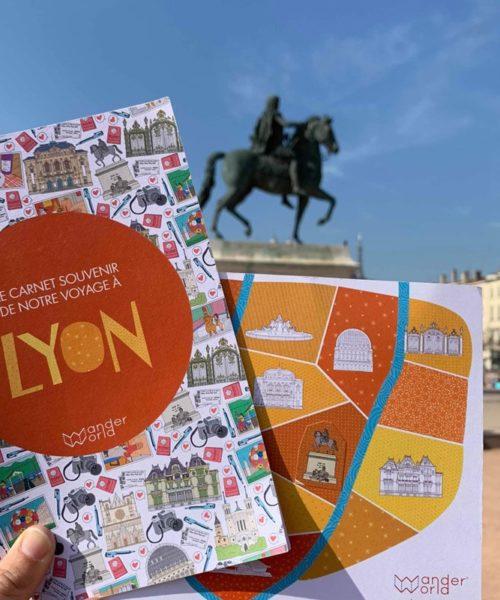 Diario de viaje para niños LYON