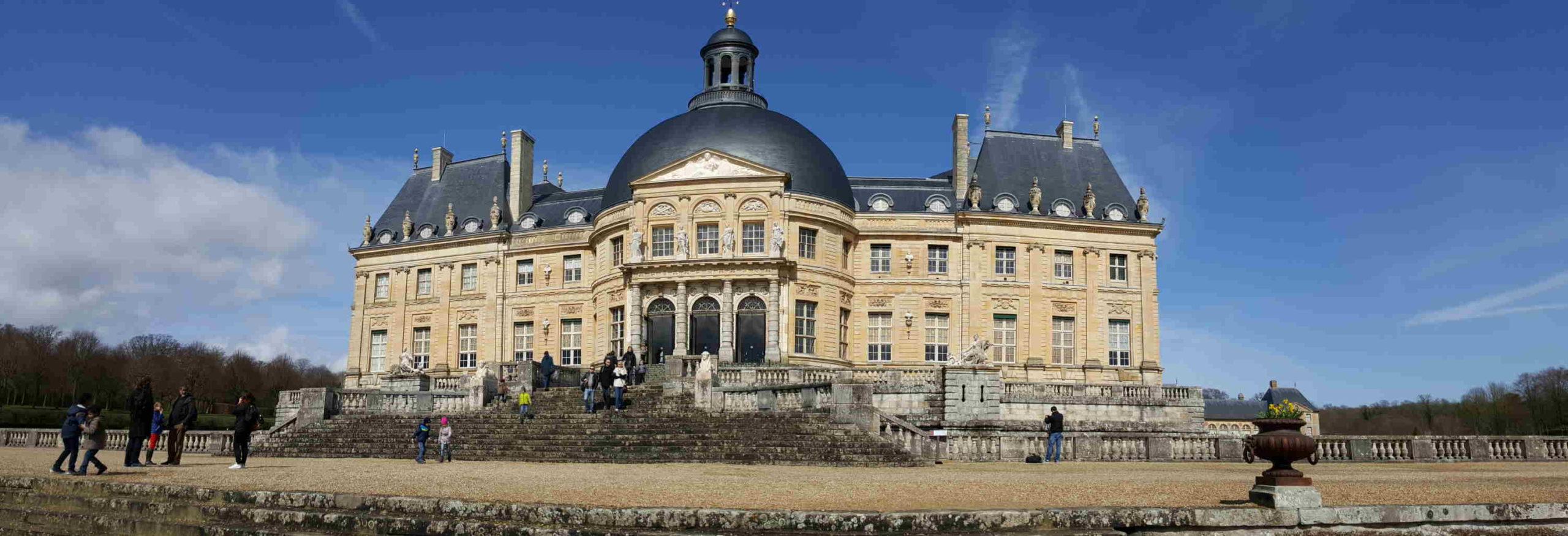 Château de Vaux le Vicomte une des sorties à faire en famille en Ile de France