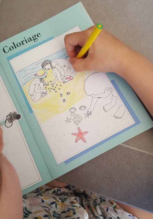 WanderWorld travel book coloring page