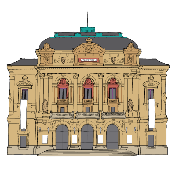 visiter Lyon : théatre des Celestins