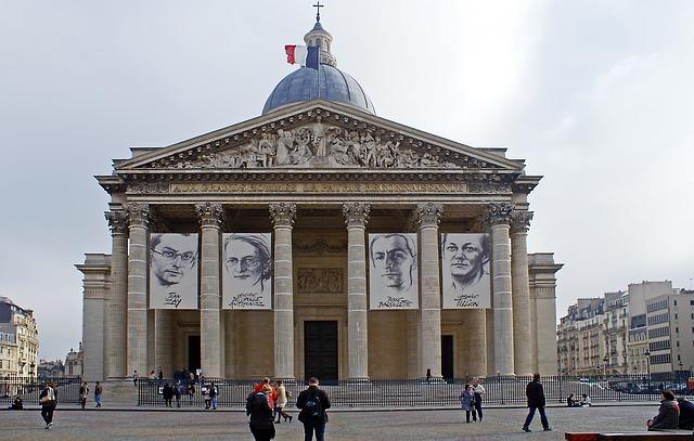 Monuments de Paris WanderWorld le Panthéon