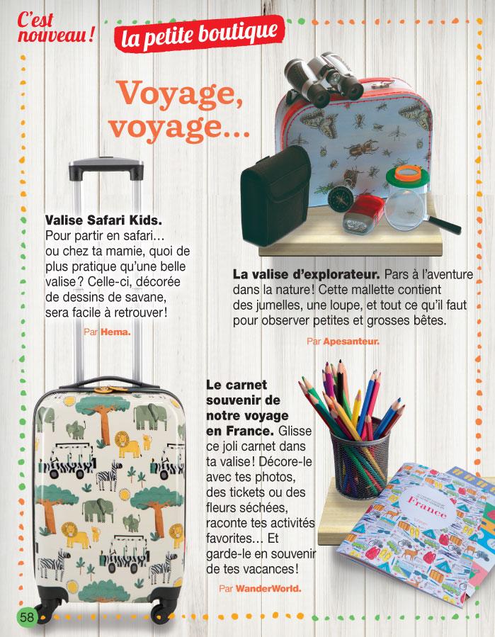 Article J'aime Lire - Wanderworld carnet de voyage pour enfant