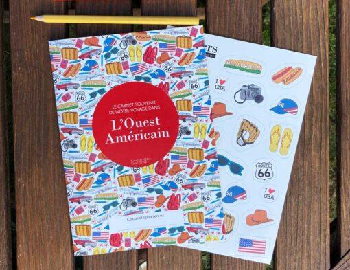 carnet de voyage grand ouest américain cover