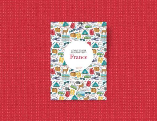 carnet souvenir de ses vacances en France
