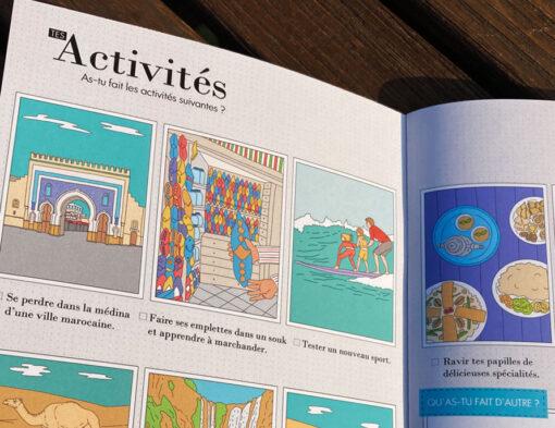 carnet de voyage Maroc activités à faire en famille